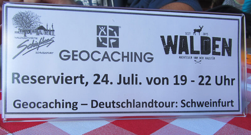Geocaching Event: Deutschlandtour